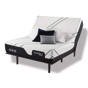 Serta iComfort CF3000 Medium Mattress on Adjustable Base