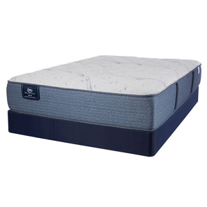 Serta iDescriptions X3 Hybrid Plush Mattress and Box Spring