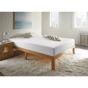 "Sleep Inc. by Corsicana 8"" Firm Gel Memory Foam Mattress In Bedroom"