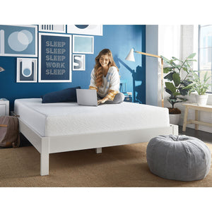 "Sleep Inc. by Corsicana 8"" Firm Gel Memory Foam Mattress Lifestyle"