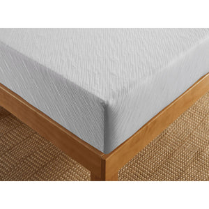 "Sleep Inc. by Corsicana 8"" Firm Gel Memory Foam Mattress Top Corner Detail"