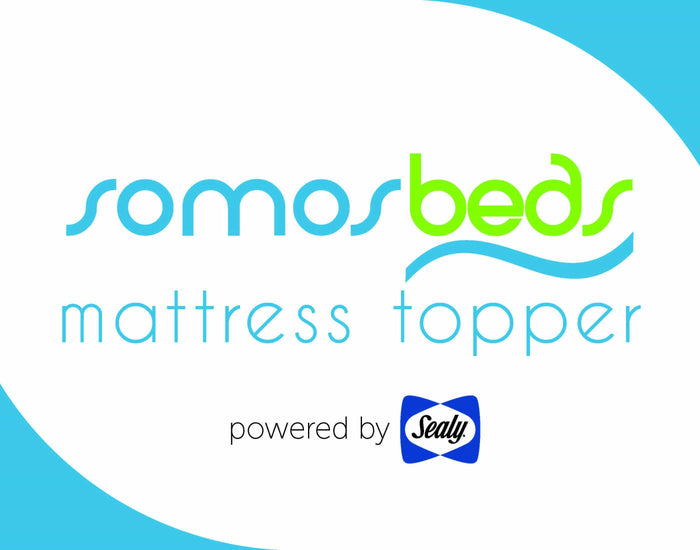 SomosBeds Mattress Topper, powered by Sealy