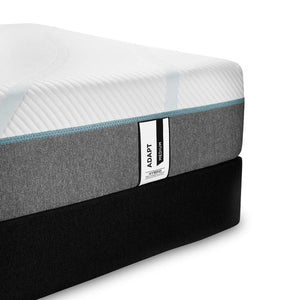 TEMPUR-Adapt Medium Hybrid Mattress and Boxspring Corner