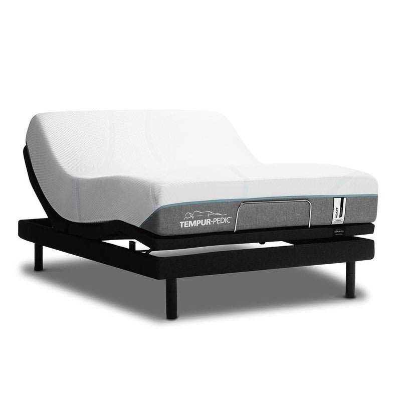 TEMPUR-Adapt Medium Hybrid Mattress on an Adjustable Base
