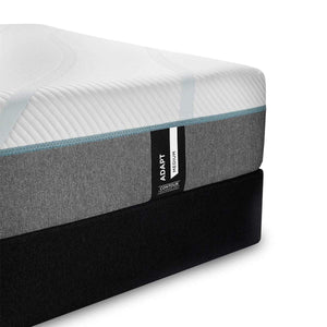 TEMPUR-Adapt Medium Mattress and Boxspring Corner