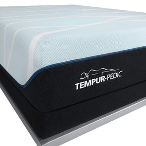 TEMPUR-LUXEBREEZE° SOFT MATTRESS CORNER LOGO