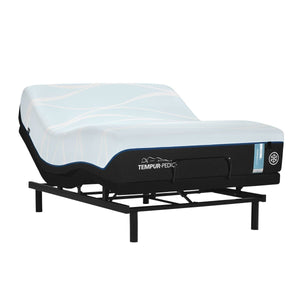 TEMPUR-LUXEBREEZE° SOFT MATTRESS ON AN ADJUSTABLE BASE