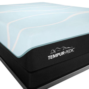TEMPUR-PROBREEZE° MEDIUM HYBRID MATTRESS CORNER LOGO