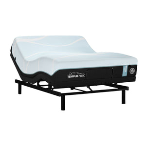TEMPUR-PROBREEZE° MEDIUM MATTRESS ON AN ADJUSTABLE BASE