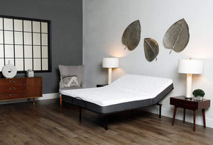 Somos 500 Adjustable Base with Mattress in Bedroom