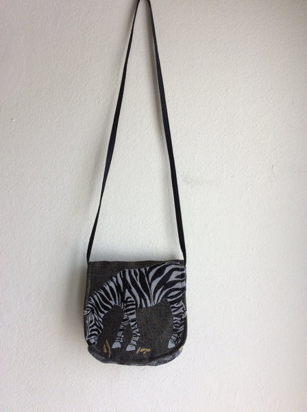 Zebra Cross Body