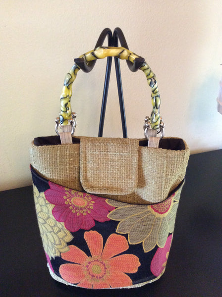 Flower Girl Tote - Orange