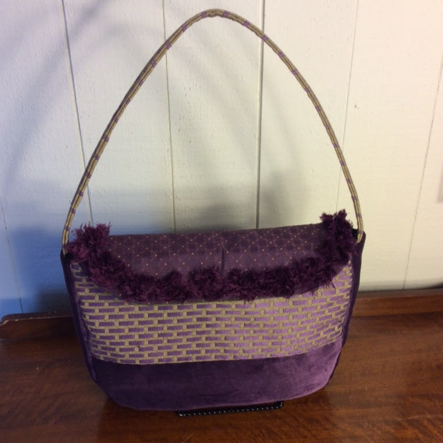 Plum Party Tote Purse