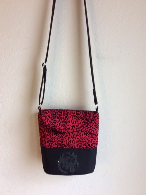 "USA Handmade Cross Body Purse ""Animal Print - Unity"""