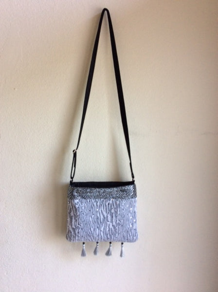Silver Sparkle Cross-body