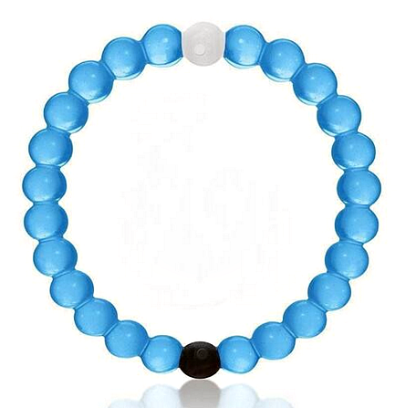 "Lokai Bracelet for a balanced life Color BLUE ""FREE SHIPPING """