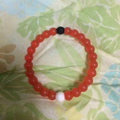 "Lokai Bracelet for a balanced life RED Colors ""FREE SHIPPING """