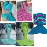 "High-Quality Mermaid Tail Envelopes Blanket For Adult Soft Sleeping Bag Pajamas Quilt  ""FREE SHIPPING"""