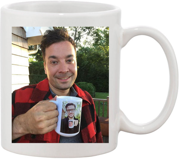 Jimmy Fallon & Justin Timberlake Funny Coffee Mug. Ultimate Inception Coffee Mug.  Great Coffee Humor and Gift Idea for Coffee Lovers