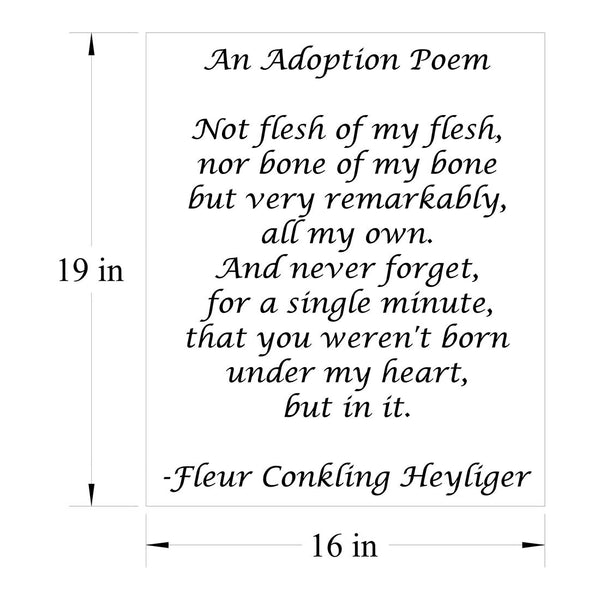 Adoption Poem