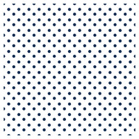 Polka Dot Red Navy Blue Heat Transfer Vinyl Sheet - Vinyl Boutique Shop