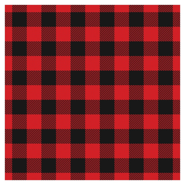 Buffalo Plaid Adhesive Vinyl Sheet - Vinyl Boutique Shop