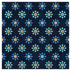 Blue Moroccan Glitter Heat Transfer Vinyl Sheet - Vinyl Boutique Shop