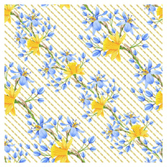 Narcissus Flowers Adhesive Vinyl Sheet - Vinyl Boutique Shop
