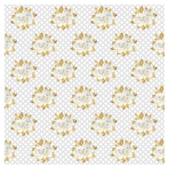 Wedding Golden Roses Adhesive Vinyl Sheet - Vinyl Boutique Shop
