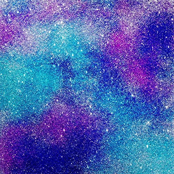 Galaxy Glitter Vinyl Craft Vinyl Adhesive Vinyl Sheet - Vinyl Boutique Shop