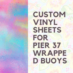 Pier 37 Custom Listing - Tye-Dye Lobster - Vinyl Boutique Shop