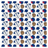 Baseball CUBS Adhesive Vinyl Sheet - Vinyl Boutique Shop