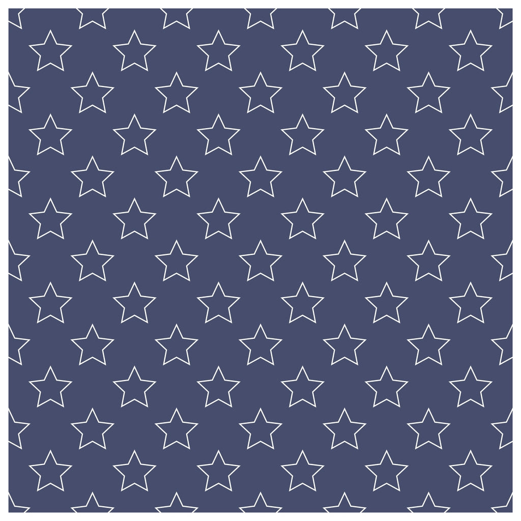Stars and Stripes Patterns Adhesive Vinyl Sheet - Vinyl Boutique Shop