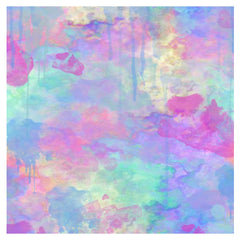 Colorful Digital Watercolor Textures Adhesive Vinyl Sheet - Vinyl Boutique Shop