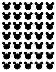 Mickey Mouse Digital Adhesive Vinyl Sheet - Vinyl Boutique Shop