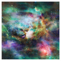 Rainbow Galaxy Adhesive Vinyl Sheet - Vinyl Boutique Shop