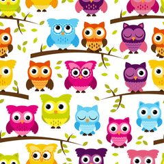 Owl Paper Vectors Vinyl Sheet - Vinyl Boutique Shop