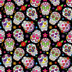 Dead Skulls Heat Transfer Vinyl Sheet - Vinyl Boutique Shop