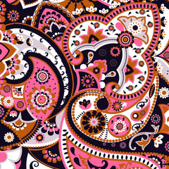 Paisley Adhesive Vinyl Sheet - Vinyl Boutique Shop
