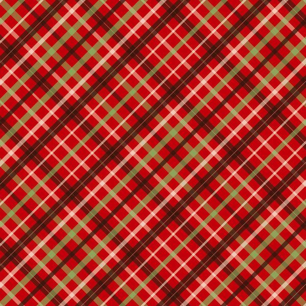 Christmas Plaids Heat Transfer Vinyl Sheet - Vinyl Boutique Shop