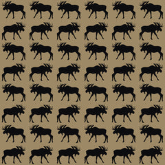 Rustic Moose Adhesive Vinyl Sheet - Vinyl Boutique Shop