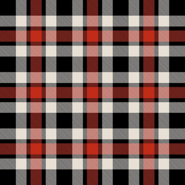 Red Plaid Heat Transfer Vinyl Sheet - Vinyl Boutique Shop