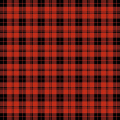 Red Plaid Adhesive Vinyl Sheet - Vinyl Boutique Shop