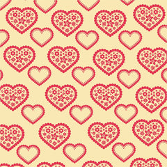 Love Pattern Heat Transfer Vinyl Sheet - Vinyl Boutique Shop