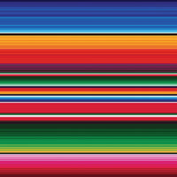 Serape Mexican Patterns Vinyl Sheets - Pack of 4