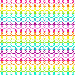 Neon Rainbow Heat Transfer Vinyl sheet - Vinyl Boutique Shop