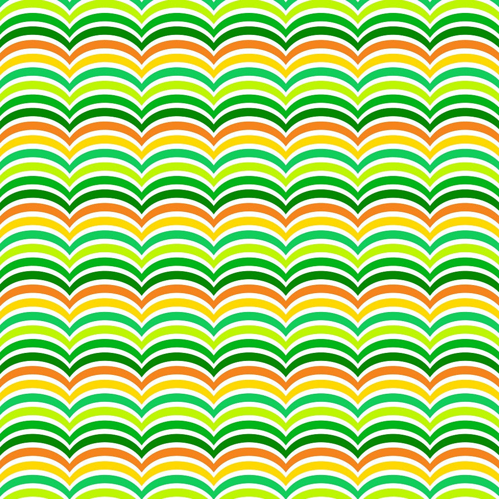 Green Patterns Adhesive Vinyl Sheet - Vinyl Boutique Shop