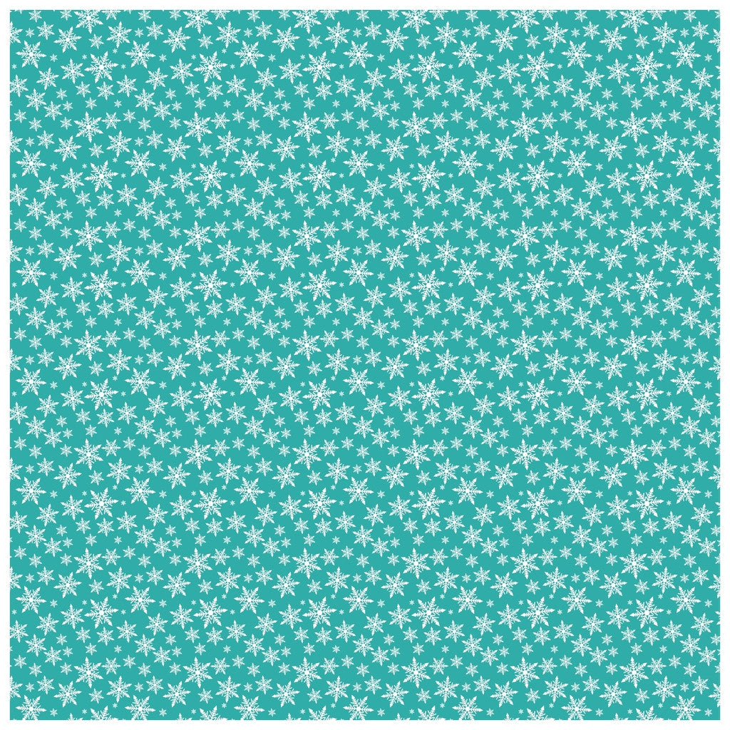 Winter Snowflake Heat Transfer Vinyl Sheet - Vinyl Boutique Shop