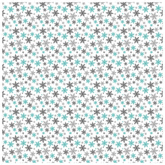 Winter Snowflake Adhesive Vinyl Sheet - Vinyl Boutique Shop