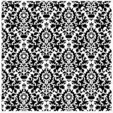 black Damask Heat Transfer Vinyl Sheet - Vinyl Boutique Shop